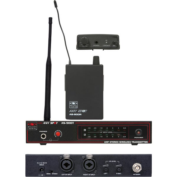 Galaxy Audio AS-900 Wireless K2 Monitor System