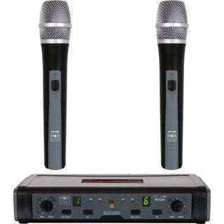 Galaxy Audio ECDR/ HH38 Code Dual Channel Wireless Microphone System