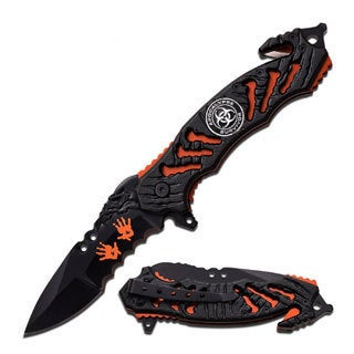 Z-Hunter Spring Assisted Knife with 3.5 -inch Blade