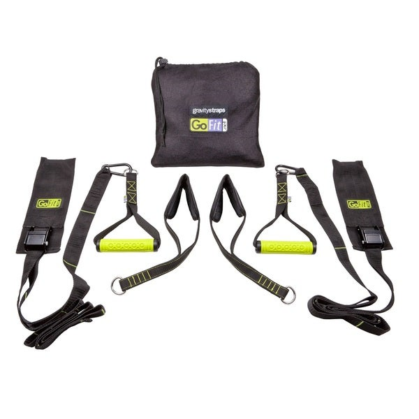 GoFit Gravity Straps with Exercise Manual and Carry Bag