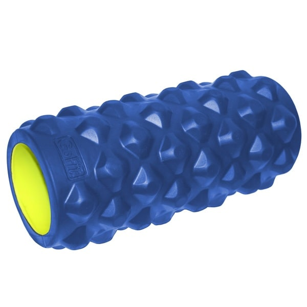 GoFit Extreme Massage Roller 13-inch Blue/ Green
