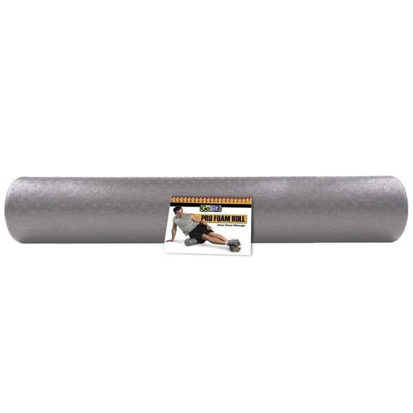 GoFit Pro Foam Roller 36-inch with Training Manual
