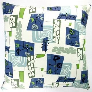 Artisan Pillows Indoor 20-inch Hawaiian Tropical Island Modern Abstract Coastal Beach Accent Throw Pillow Cover