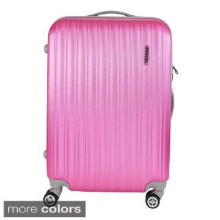 InUSA Houston Collection 23.4-inch Lightweight Hardside Spinner Upright Suitcase