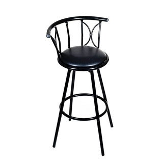 Weatherproof Padded Outdoor Bar Stool