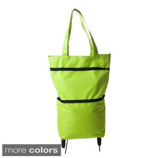 Eco-Friendly Foldable Rolling Shopping Bag