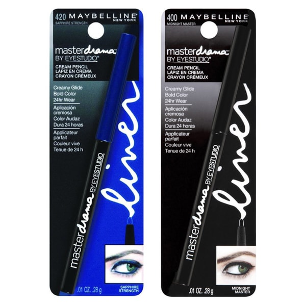 Maybelline Eye Studio Master Drama Cream Eye Pencil Set