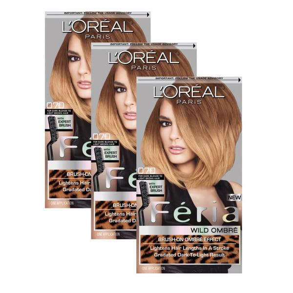 L'Oreal Paris Feria Wild Ombre Hair Color (Pack of 3)
