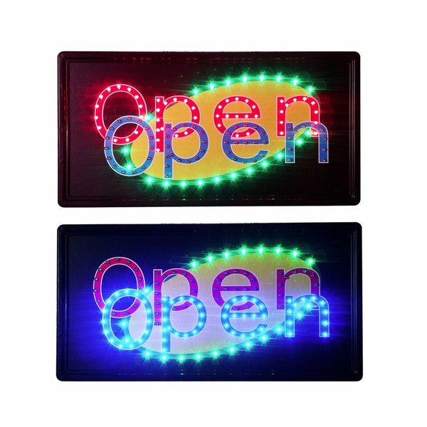 Constructor Animated Motion LED Dual Open Sign