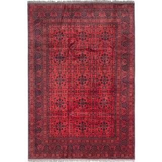Ecarpetgallery Finest Khal Mohammadi Red Wool Open Field Rug (6'7 x 9'6)