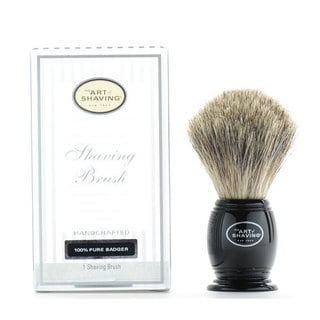 The Art Of Shaving 100-percent Pure Badger Hand-crafted Black Shaving Brush