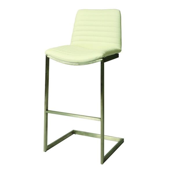Buxton 26-inch White Barstool