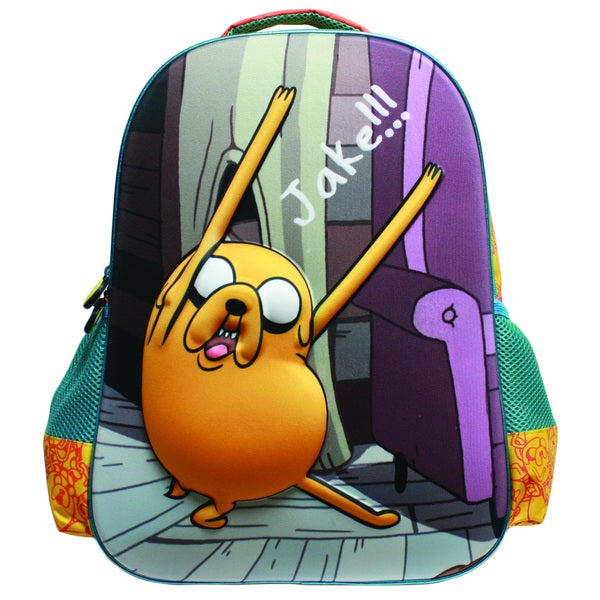 Adventure Time Jake Rocks. Backpack