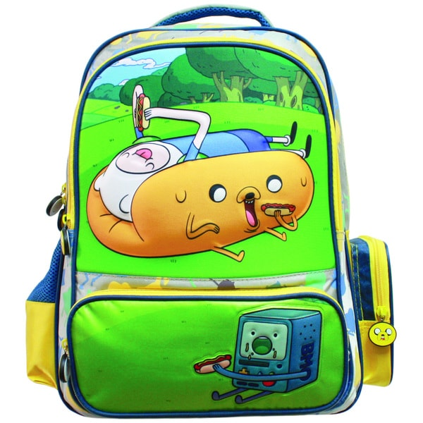 Adventure Time 3D Hotdog Backpack