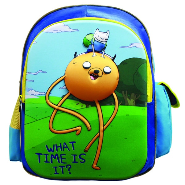 Adventure Time 'What Time Is It' 3D Backpack
