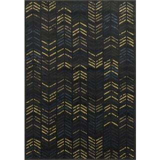 Rizzy Home Sorrento Collection Power-loomed Accent Rug (6'7 x 9'6)