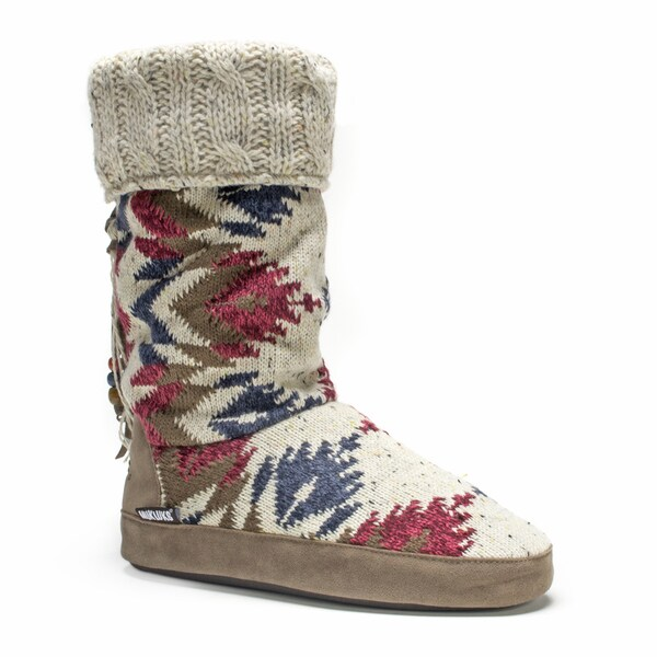 Muk Luks Women's Natural Winona Slipper