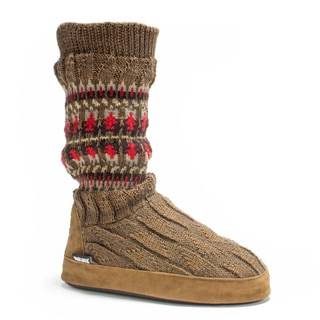 Muk Luks Women's Copper Vanessa Slipper