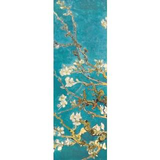 Portfolio Canvas Decor Van Gogh 'Almond Blossom Panel I' Framed Canvas Wall Art (Set of 2)