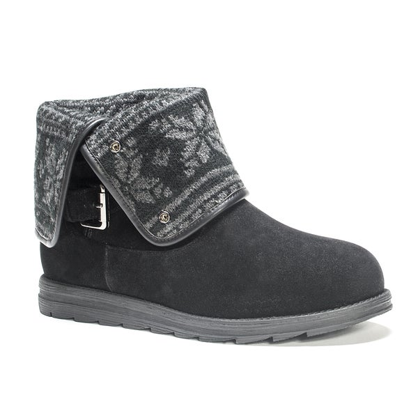 Muk Luks Women's Black Jess Boot