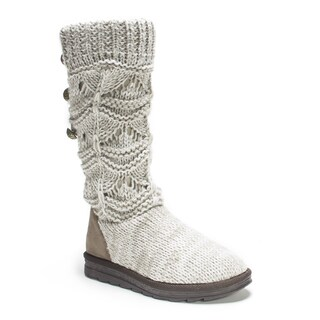 Muk Luks Women's Natural Jamie Boot