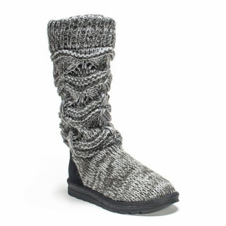 Muk Luks Women's Grey Jamie Boot