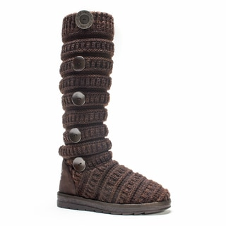 Muk Luks Women's Dark Brown Miranda Boot