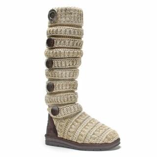 Muk Luks Women's Oatmeal Miranda Boot