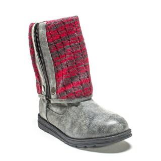 Muk Luks Women's Grey Demi Boot