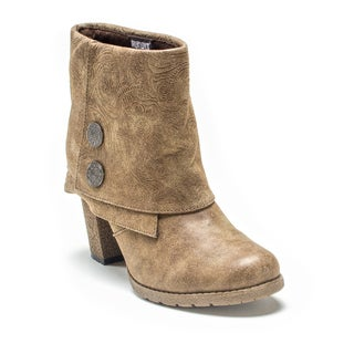 Muk Luks Women's Medium Brown Chris Boot