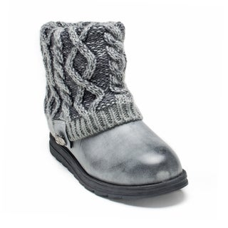 Muk Luks Women's Grey Patti Boot