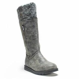 Muk Luks Women's Grey Alicia Boot