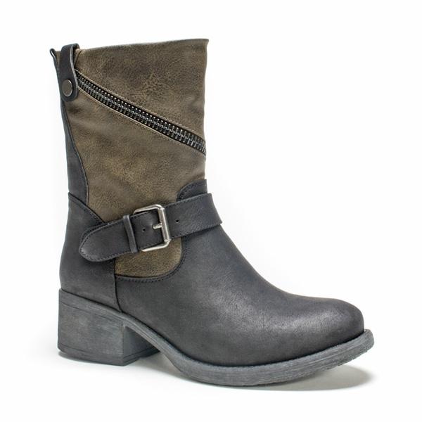 Muk Luks Women's Black Maggie Boot