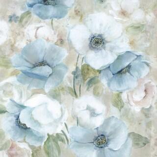 Portfolio Canvas Decor Carol Robinson 'Pastel Garden I' Framed Canvas Wall Art