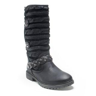 Muk Luks Women's Black Gayle Boot