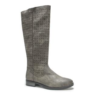 Muk Luks Women's Medium Grey Fatima Boot