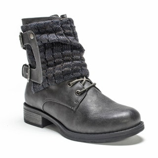 Muk Luks Women's Dark Grey Effie Boot