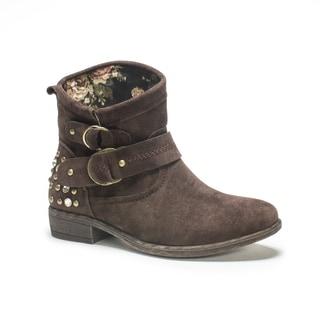 Muk Luks Women's Dark Brown Candace Boot