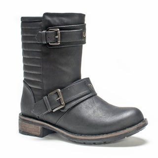 Muk Luks Women's Black Alana Boot