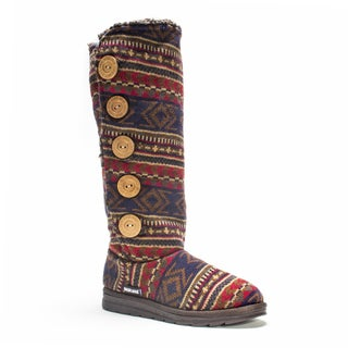 Muk Luks Women's Navy Tribal Malena Boot