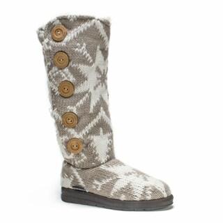 Muk Luks Women's Taupe Malena Boot