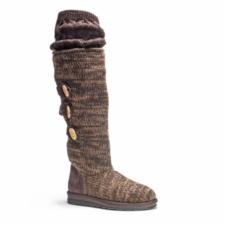 Muk Luks Women's Brown Caris Boot