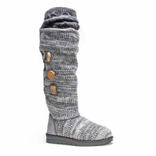 Muk Luks Women's Dark Grey Caris Boot