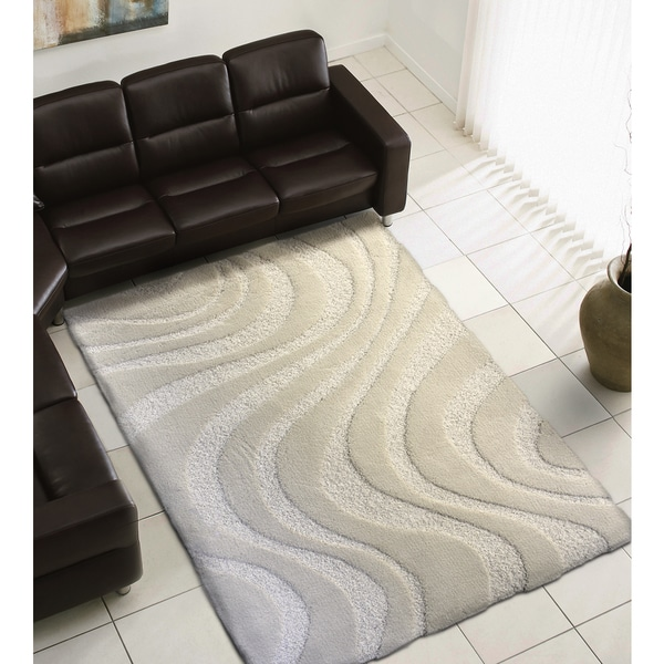 "Liberty Cream Area Rug (5'3 x 7'5"")"