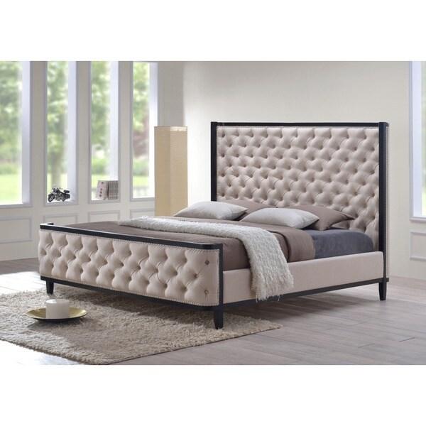 Kensington King Upholstered Sleigh Bed