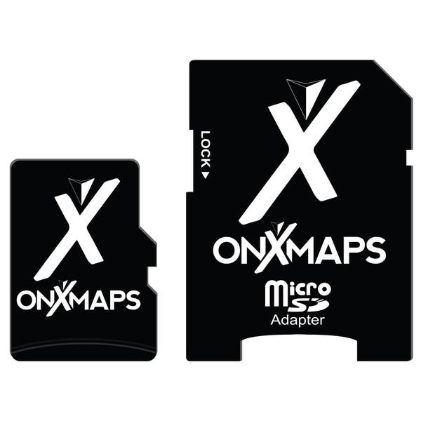 onXmaps HUNT California Public/ Private Land Ownership Topo Maps Micro SD Card for Garmin GPS