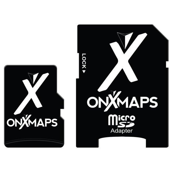 onXmaps HUNT Oregon Public/ Private Land Ownership Topo Maps Micro SD Card for Garmin GPS