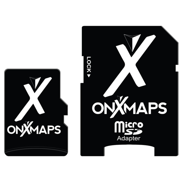 onXmaps HUNT Alabama Public/ Private Land Ownership Topo Maps Micro SD Card for Garmin GPS