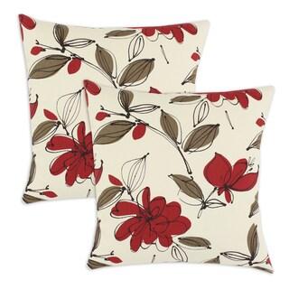 Bremer Garnet 17-inch Pillow (Set of 2)