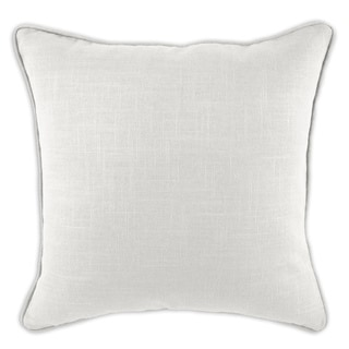 Circa Solid Dune 19-inch Self-corded Pillow